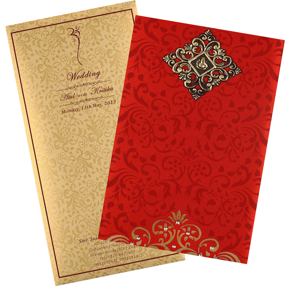 Wedding Cards: A Muslim Wedding Gets Complete With The Islamic Wedding